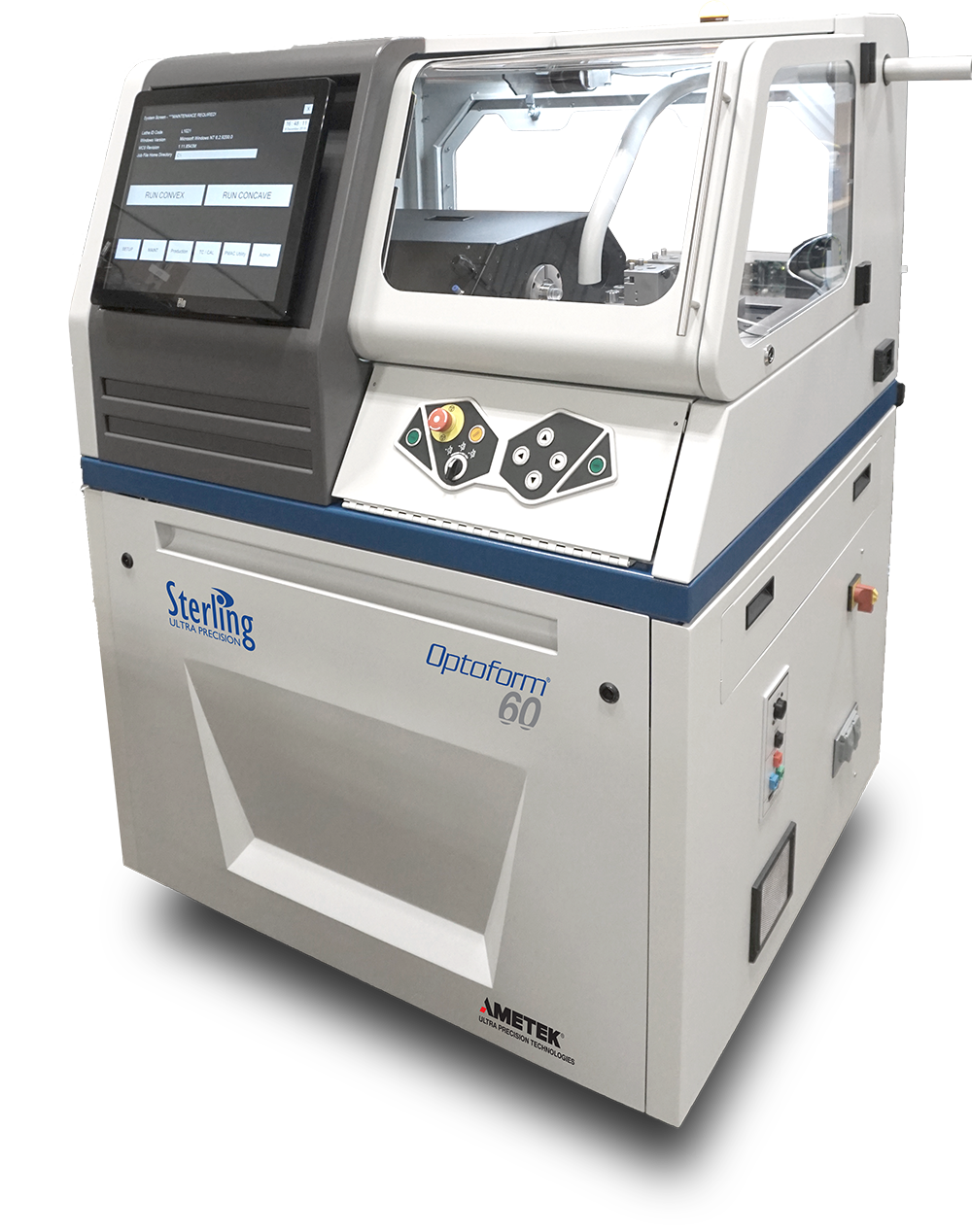 Optoform 60 ophthalmic lathe
